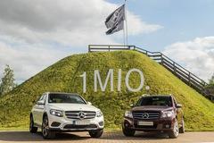 Chiếc SUV hạng sang Mercedes-Benz GLC thứ 1 triệu xuất xưởng