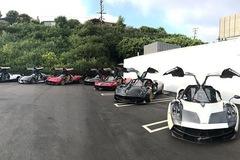 """Dàn """"siêu phẩm"""" Pagani tụ tập tham dự tuần lễ xe Monterey 2017"""