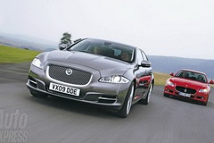Jaguar XJ và Maserati Quattroporte
