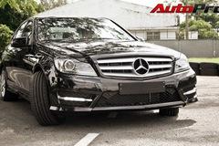 Mercedes C300 body-kit AMG 2012: thể thao hơn cho giới trẻ