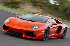 Sau vô lăng Lamborghini Aventador LP700-4