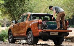Cách để đồ an toàn trên thùng xe bán tải