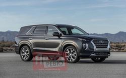 Hyundai Palisade lộ ảnh nóng trước ngày ra mắt: Đối thủ nặng ký của Ford Explorer