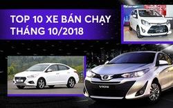 10 xe bán chạy nhất tháng 10/2018 - Cuộc nổi loạn của xe nhỏ
