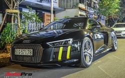 Audi R8 V10 Plus màu đen giống của Cường Đô La tìm được chủ mới