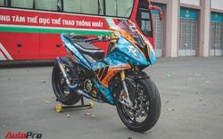 Dân chơi Sài Gòn chi 350 triệu đồng độ Yamaha Exciter 150 phong cách BMW S1000RR chơi Tết