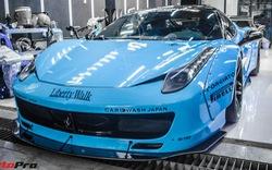 Chuẩn bị hành trình Tây Nguyên, Ferrari 458 Italia độ Liberty Walk đổi màu độc đáo