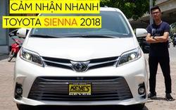 Khám phá Toyota Sienna 2018 - Xe gia đình 4 tỷ cho đại gia Việt