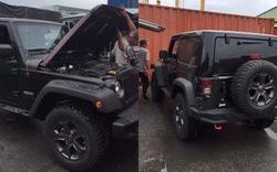 Hàng hiếm Jeep Wrangler Rubicon Unlimited 2018 bản 2 cửa số sàn đầu tiên cập cảng Việt Nam