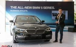 Khám phá chi tiết BMW 5-Series đời mới vừa ra mắt tại Việt Nam, giao xe có thể sau Tết