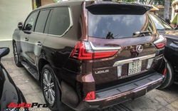 Đại gia Sài Gòn vung tay sắm Lexus LX570 màu lạ, đeo biển số tứ quý 9