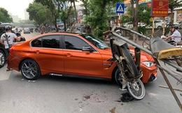 Xe máy chở sắt vụn 'hôn má' BMW 3-Series độ M3 độc đáo