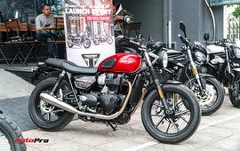 Triumph thêm 2 mẫu phân khối lớn tại Việt Nam, đối đầu Ducati Scrambler