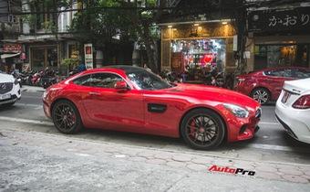 Mercedes-AMG GT S màu đỏ độc nhất Việt Nam quay lại Hà Nội sau thời gian dài định cư Sài Gòn
