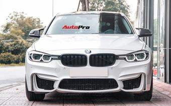 BMW 320i 2016 độ gần 300 triệu được rao bán lại giá 1,439 tỷ đồng