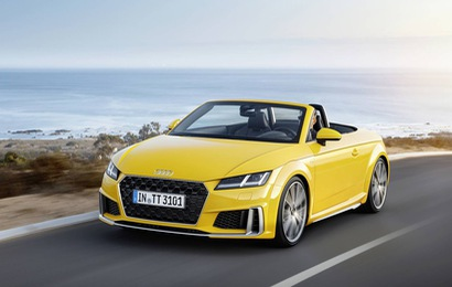 Chính thức ra mắt Audi TT facelift - Nâng cấp nhỏ giọt
