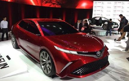 Đây là hình ảnh xem trước của Toyota Camry 2018 cho châu Á