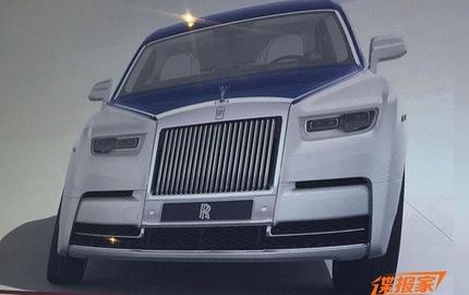 """Xe siêu sang Rolls-Royce Phantom 2018 bất ngờ """"hiện nguyên hình"""""""