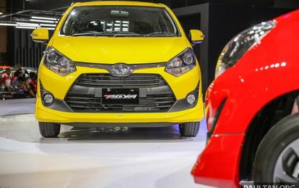 Làm quen với Toyota Wigo 2017 - đối thủ của Kia Morning - sắp về Việt Nam