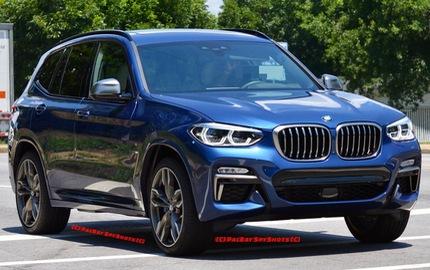 Bắt gặp SUV hạng sang BMW X3 2018 ngoài đời thực