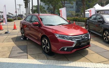 Ngắm Mitsubishi Lancer phiên bản mới dành cho châu Á ngoài đời thực