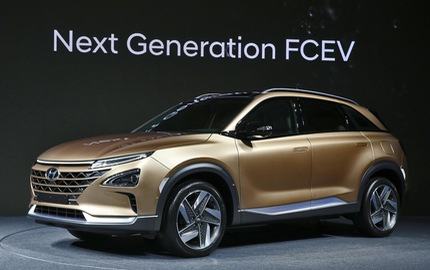 Hyundai bất ngờ vén màn mẫu SUV mới chạy bằng hy-đrô