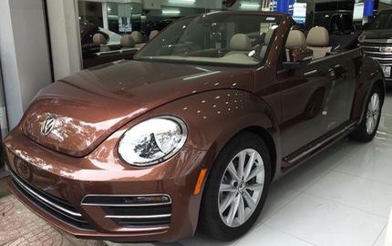"""Con bọ"" Volkswagen Beetle Convertible 2017 cập bến Việt Nam"