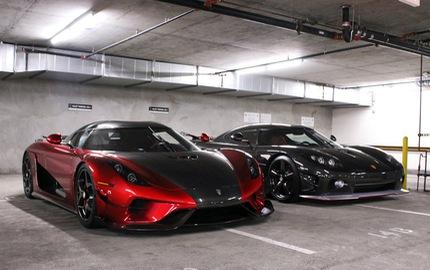 Lần đầu bắt gặp siêu xe không hộp số Koenigsegg Regera ngoài đời thực