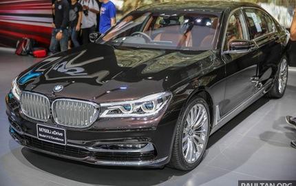Sedan hạng sang cỡ lớn BMW M760Li xDrive 2017 ra mắt Đông Nam Á, giá hơn 8 tỷ Đồng