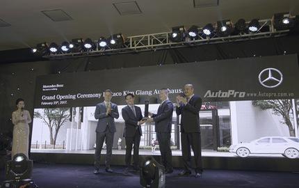 Khai trương đại lý thứ 13 của Mercedes-Benz tại Việt Nam