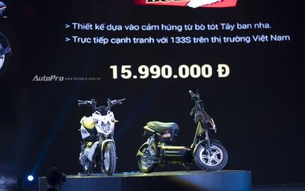 """Bộ tứ xe điện """"made in Vietnam"""" trình làng, giá từ 11,99 triệu đồng"""