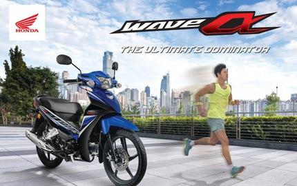 Honda Wave Alpha 2017 ra mắt Malaysia, giá từ 23,2 triệu Đồng