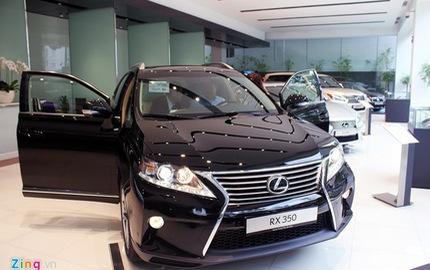 Lexus ngày càng bị thất sủng tại Việt Nam