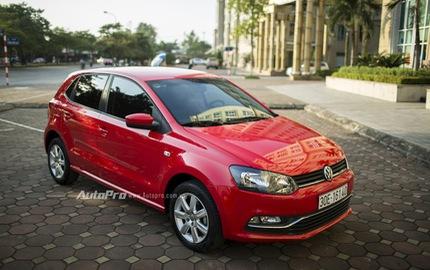 Xe nhỏ Volkswagen Polo tung khuyến mãi lớn