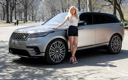Nữ ca sỹ Ellie Goulding giới thiệu SUV hạng sang Range Rover Velar
