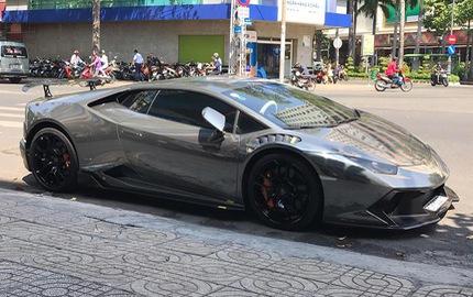 Cận cảnh bộ áo crôm trên Lamborghini Huracan độ Novara Edizione độc nhất Việt Nam