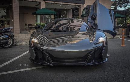 """Cường """"Đô-la"""" đổi màu sơn siêu xe McLaren 650S Spider từng thuộc của Minh """"Nhựa"""""""