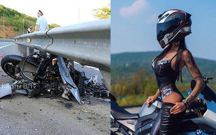 Nữ biker nổi tiếng với những màn biểu diễn mô tô mạo hiểm tử vong trong vụ tai nạn kinh hoàng