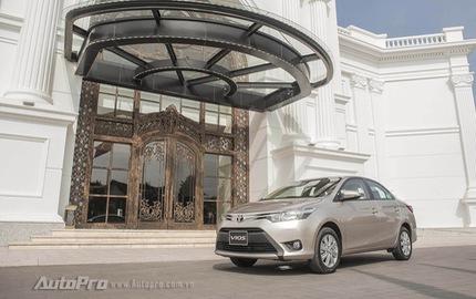 Tháng 12: Toyota Vios và Innova đắt hàng như tôm tươi, bán trên 4000 xe/tháng