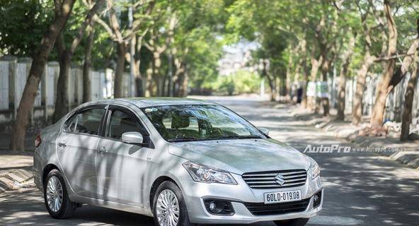 Đánh giá Suzuki Ciaz - Làn gió mới trong phân khúc sedan hạng B