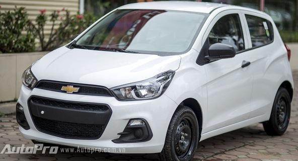 Trải nghiệm nhanh xe giá rẻ Chevrolet Spark Van 2016 tại Việt Nam