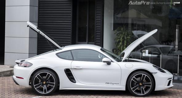 Khám phá Porsche 718 Cayman giá 4,5 tỷ Đồng tại Việt Nam