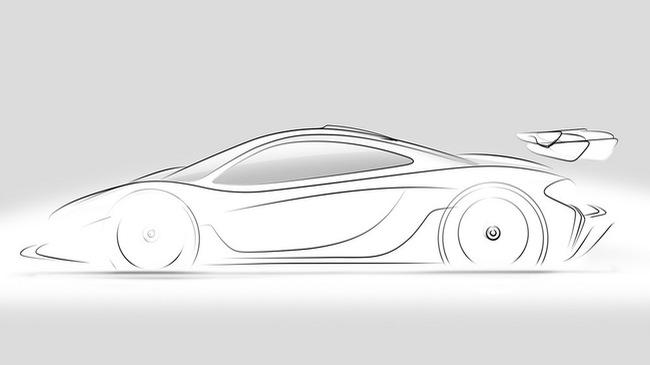 Siêu xe đua McLaren P1 GTR xuất đầu lộ diện