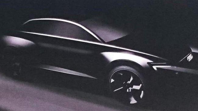 Audi hé lộ hình ảnh Audi Q6, xác nhận SUV cao cấp nhất Q8