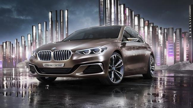 Xem trước hình ảnh của BMW 1-Series và 2-Series Sedan hoàn toàn mới