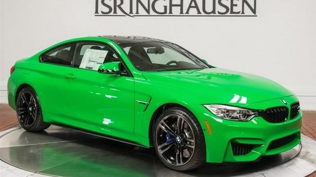 """BMW M4 màu xanh nõn chuối có giá """"chát"""""""