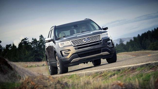 Ford Explorer Platinum 2017 sẵn sàng đổ bộ thị trường