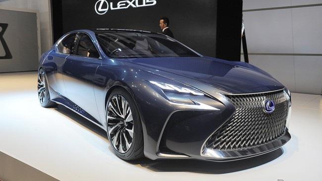 Lexus LF-FC – Hình ảnh xem trước của sedan hạng sang cỡ lớn LS mới