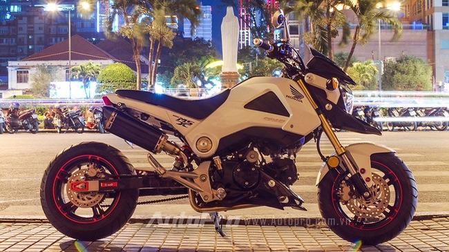 Honda MSX 125 độ cá tính của nữ Biker Sài Thành