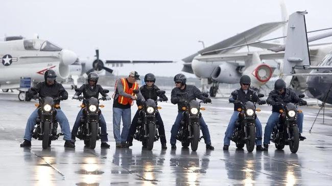 Harley-Davidson đào tạo lái xe miễn phí cho quân đội Mỹ